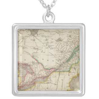 Canada 7 silver plated necklace