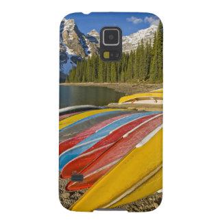 Canada, Alberta, Banff National Park, Moraine Galaxy S5 Covers