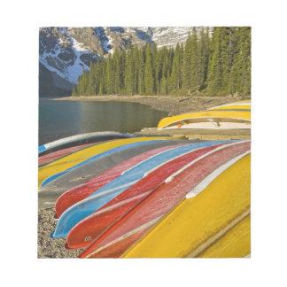 Canada, Alberta, Banff National Park, Moraine Notepad