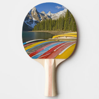 Canada, Alberta, Banff National Park, Moraine Ping Pong Paddle