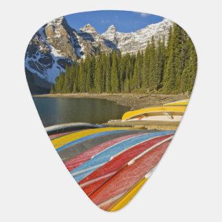 Canada, Alberta, Banff National Park, Moraine Plectrum