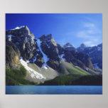 Canada, Alberta, Banff National Park, Moraine Poster