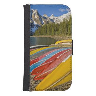 Canada, Alberta, Banff National Park, Moraine Samsung S4 Wallet Case