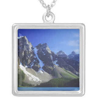 Canada, Alberta, Banff National Park, Moraine Silver Plated Necklace