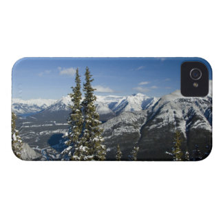 Canada, Alberta, Banff. Views of the Bow Valley iPhone 4 Case