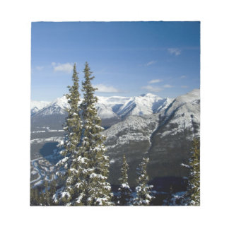 Canada, Alberta, Banff. Views of the Bow Valley Notepad