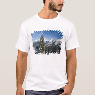 Canada, Alberta, Banff. Views of the Bow Valley T-Shirt