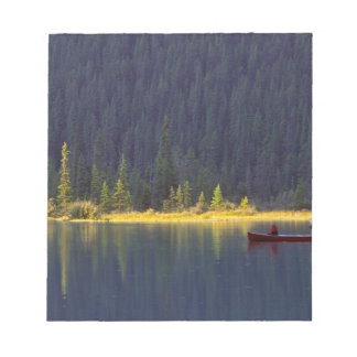 Canada, Alberta, Baniff National Park. Two boys Notepad