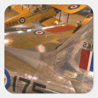 Canada, Alberta, Calgary: Aero Space Museum of Square Sticker