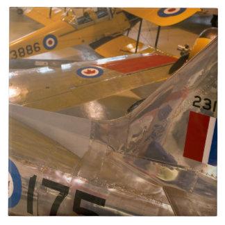 Canada, Alberta, Calgary: Aero Space Museum of Tile