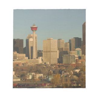 Canada, Alberta, Calgary: City Skyline from 2 Notepad