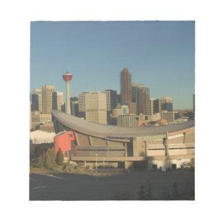 Canada, Alberta, Calgary: City Skyline from 3 Notepad