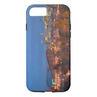 Canada, Alberta, Calgary: City Skyline from 4 iPhone 8/7 Case