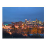 Canada, Alberta, Calgary: City Skyline from 4 Postcards