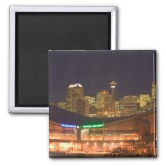 Canada, Alberta, Calgary: City Skyline from Magnet