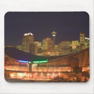 Canada, Alberta, Calgary: City Skyline from Mouse Pad