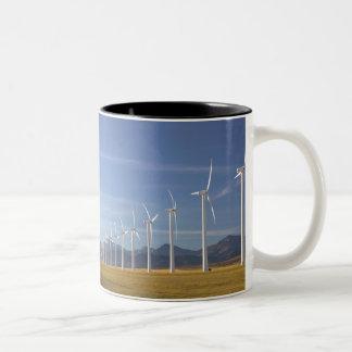 Canada, Alberta, Crowsnest Pass Area: Cowley Two-Tone Coffee Mug