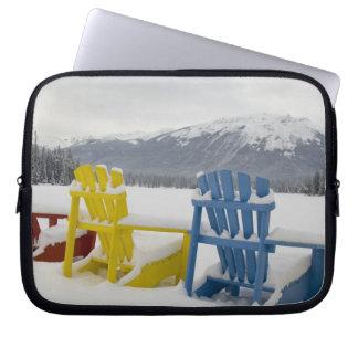 Canada, Alberta, Jasper, Jasper NP. Fairmont Laptop Sleeve