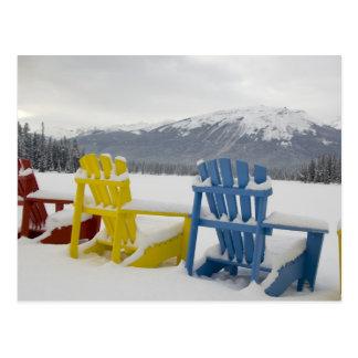 Canada, Alberta, Jasper, Jasper NP. Fairmont Postcard
