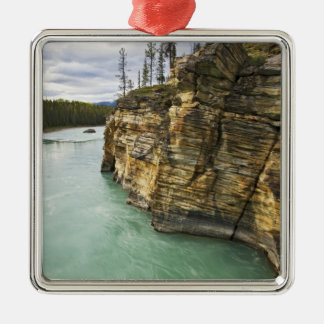 Canada, Alberta, Jasper National Park, Athabasca Christmas Ornament