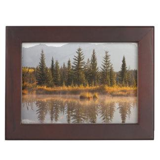 Canada, Alberta, Jasper National Park Keepsake Box