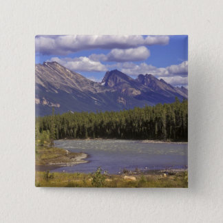 Canada, Alberta, Jasper National Park. Large 15 Cm Square Badge