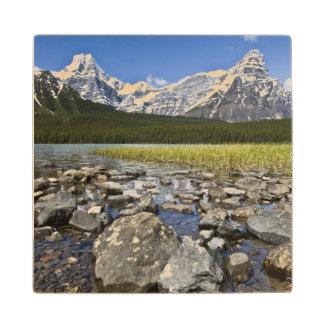 Canada, Alberta, Rocky Mountains, Banff National Wood Coaster