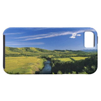 Canada, Alberta, The Highwood River Along the iPhone 5 Cases