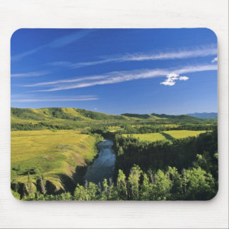 Canada, Alberta, The Highwood River Along the Mouse Mat