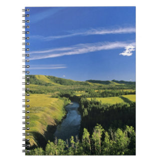 Canada, Alberta, The Highwood River Along the Notebook