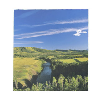 Canada, Alberta, The Highwood River Along the Notepad