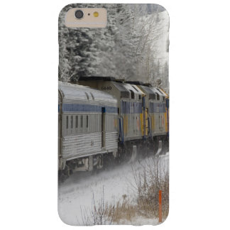 Canada, Alberta. VIA Rail Snow Train between Barely There iPhone 6 Plus Case