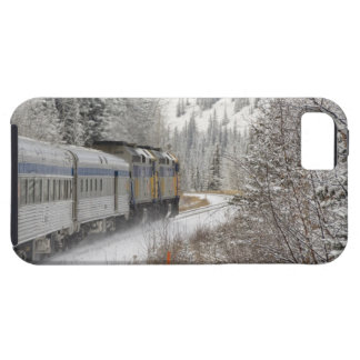 Canada, Alberta. VIA Rail Snow Train between iPhone 5 Cover