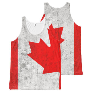 Canada All-Over Print Tank Top