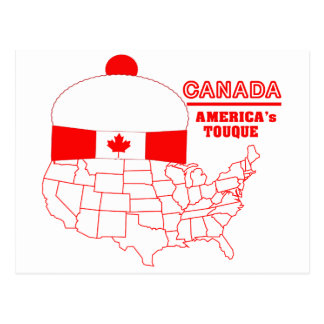 Canada -America s Cool Tuque Post Card