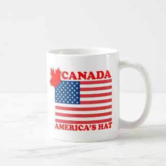 Canada ... America's Hat Basic White Mug