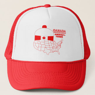 Canada -America's Cool Tuque Trucker Hat