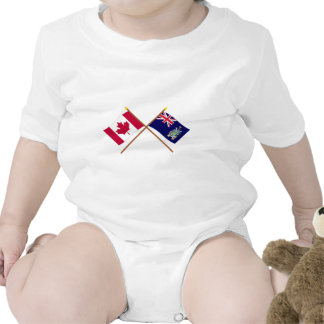 Canada and South Georgia Crossed Flags Shirt