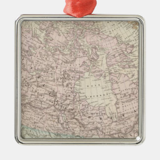 Canada and United States 2 Christmas Ornament