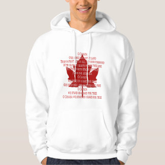 Canada Anthem Hoodie Souvenir Canada Shirts Gifts