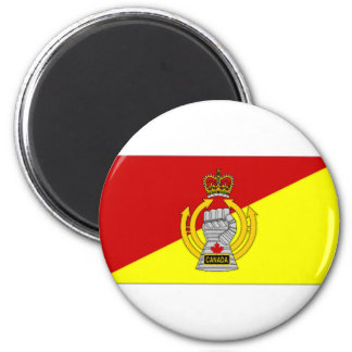 Canada Armoured Branch Camp Flag Magnet