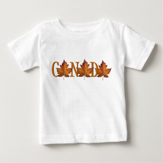 Canada Baby T-shirt Canada Souvenir Baby Tee Shirt