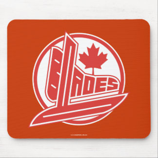 Canada Blades Mouse Pad