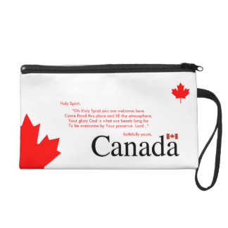 Canada Bless Wristlet