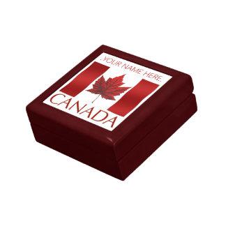 Canada Box Canada Flag Souvenir Jewelry Box Gift