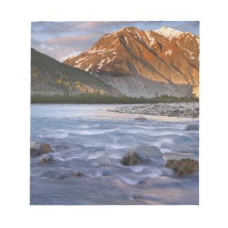 Canada, British Columbia, Alsek River Valley. 2 Notepad