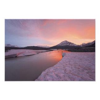 Canada, British Columbia, Alsek River Valley. Art Photo