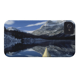 Canada, British Columbia, Banff. Kayak bow on Case-Mate iPhone 4 Cases