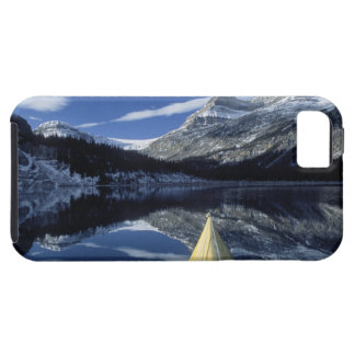 Canada, British Columbia, Banff. Kayak bow on iPhone 5 Cases