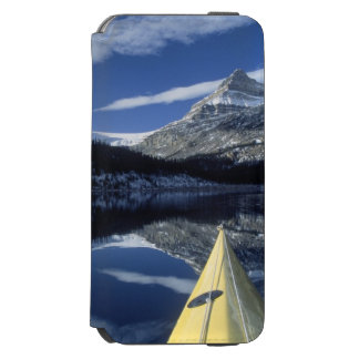 Canada, British Columbia, Banff. Kayak bow on Incipio Watson™ iPhone 6 Wallet Case
